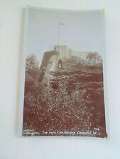 I.O.W. The Keep Carisbrooke Castle Vintage RPPC by Willsteed, Southampton  §E915