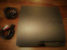 Console Playstation 3 PS3 Slim 120 Gb 4.82 + Cavi Testata e Funzionante