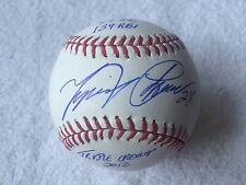 Miguel Cabrera Signed / Autographed 2012 Triple Crown Stat ball PSA/DNA Tigers