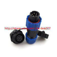 5pin Waterproof Connector, SD13 IP67 LED Connector Aviation Automotive Connector