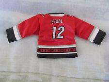 Carolina Hurricanes Eric Staal #12 NHL Mini Hockey Jersey