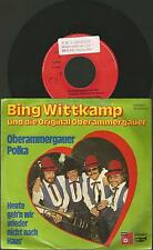 "x1 / Vinyl ""7 Single 45, Bing wittkamp + Original Oberammergauer / Polka"