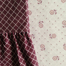 Mary Quant  Duvet Cover and Valance set (Dorma) White with pink flowers 1983
