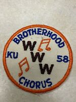 1958 National Order of the Arrow Conference NOAC Brotherhood Chorus - Kansas Uni