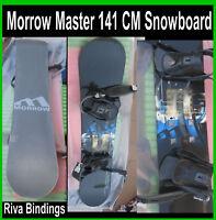 Morrow snowboard 141 master with Riva bindings Great Stomp Pad