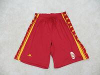 Kappa Shorts Adult 2XL XXL Red Yellow Soccer Futbol Football Athletic Mens