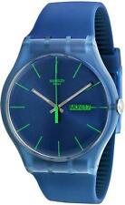 Swatch 'Blue Rebel' Watch SUON700