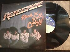 Renegade - Rock N Roll Crazy - 1983 Vinyl 12'' Lp./ Exc./ Hard Rock Metal