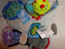 """Disney A Bug's Life 8"""" Mini Bean Bag Plush Lot!"""