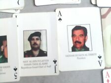 More details for gulf war most wanted deck cards