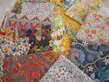 LIBERTY FABRIC - TANA LAWN REMNANT SALE- LISTING 3 - CRAFT QUILTING -NEW DESIGNS