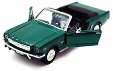 Ford Mustang Convertible 1964 - Green, Classic Metal Model Car, Motormax 1/24