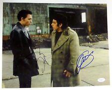 Al Pacino & Johnny Depp REAL hand SIGNED 11x14 Donnie Brasco photo JSA COA
