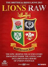 The British & Irish Lions 2013: Lions Raw DVD