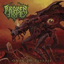 BROKEN HOPE - OMEN OF DISEASE  CD  15 TRACKS HARD & HEAVY / DEATH METAL  NEW+