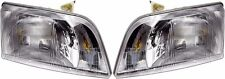 BLUE BIRD VISION SCHOOL BUS 2004 2005 2006 2007 HEADLIGHT HEAD LAMP LIGHT PAIR