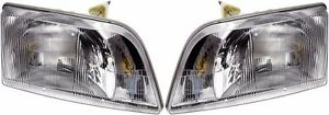 BLUE BIRD VISION SCHOOL BUS 2008 2009 2010 2011 HEADLIGHT HEAD LAMP LIGHT PAIR