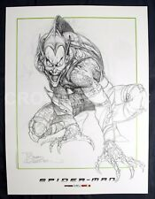 "Spider-Man Movie Bernie Wrightson Green Goblin Concept Design Art Print 18x24"""