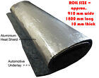 Underfelt Underlay Felt with aluminium heat shield suit moulded Car Carpet Vinyl