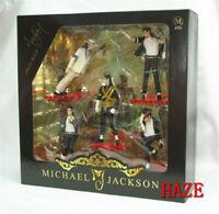 5pcs/set King of Foreve MJ Michael Jackson 10cm PVC Action Figure Model Toys