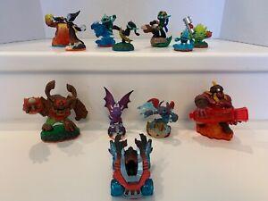 Huge LOT of 12 - Activision SKYLANDER Action Figures Game Toys Figurines Car