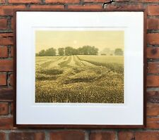 """Kenneth Leech Print Lithograph Titled """"Harvest Moon"""" 12/200, Signed by Artist"""