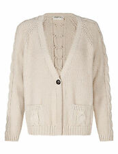 Marks and Spencer Cotton Long Sleeve V Neck Women's Jumpers & Cardigans
