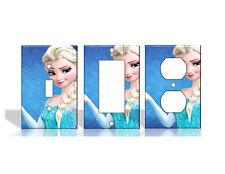 Frozen #3 Elsa Disney Light Switch Covers Home Decor Outlet
