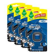 Little Trees Vent Liquid Car Air Freshener, 4-PACK (New Car Scent)