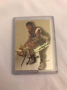 1999 SKYBOX WNBA Autographics Nykesha Sales AUTHENTIC AUTOGRAPH CT Sun