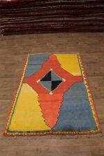 5X8 Amazing Rare Plush Gabbeh Modern Persian Rug Oriental Area Carpet 4ʹ8X7ʹ8