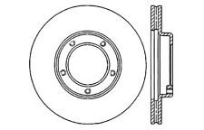 Centric Parts 121.44030 Front Disc Brake Rotor