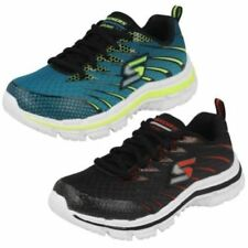 Skechers Synthetic Shoes for Boys with Laces