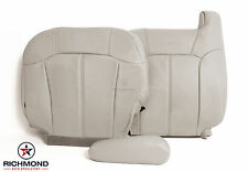 2000-2002 Chevy Tahoe Suburban LT -Driver Side COMPLETE Leather Seat Covers Tan