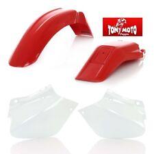 ACERBIS KIT PLASTICHE HONDA XR 250 400 R 96 97 98 99 2000 01 02 03 04 ORIGINALE