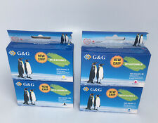 New G&G Ink Cartridge Replacement for HP 564XL Lot Black Yellow Cyan Magenta