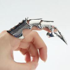 Blesiya 12cm Queen Gold Art Nail Ring Fingernail Joint Armour Knuckle Finger