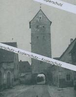 Mainbernheim : Unteres Tor - Altstadtansicht - um 1915      Z 2-14