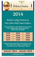 2014 Monthly Lottery Predictions for Pick 4 Win 4 Big 4 Cash 4 Daily 4 :...