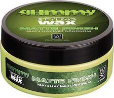 FONEX GUMMY STYLING SOFT CLAY HAIR WAX MATTE FINISH LOOK 5 OZ