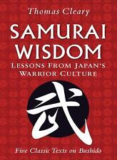 Samurai Wisdom: Lessons from Japan's Warrior Culture-ExLibrary