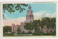 USA,East Side High School Denver Colorado Postcard, B232