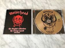 Motorhead The Singles Collection The Bronze Years 1978-1984 CD Gold Disc Lemmy