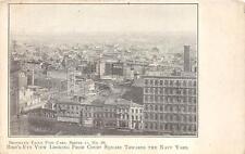 BROOKLYN EAGLE NEWSPAPER COURT SQUARE NAVY YARD NEW YORK POSTCARD (c. 1905)