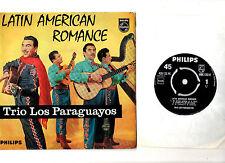 """""""Latino"""" Trío. los paraguayos. latinoamericano Romance. Uk Orig 7"""" EP & Pic/sl. EX/en muy buena condición +"""