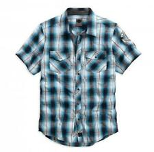 Harley-Davidson Cotton Check Casual Shirts & Tops for Men