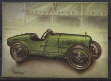 Sunbeam 2 L GP Racing Car 1923 Vintage 1950s Dutch Trading Card No.145