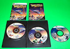 THRILLVILLE OFF THE RAIL GAME FOR DELL HP ACER WINDOWS XP PC LAPTOP COMPUTER