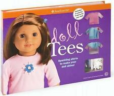 American Girl DOLL TEES Kit with Sparkles, 3 T shirts, stencils etc ~ NIB