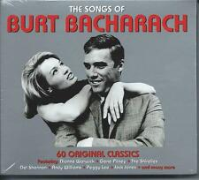 The Songs Of Burt Bacharach - 60 Original Classics - Various Artists (3CD) NEW